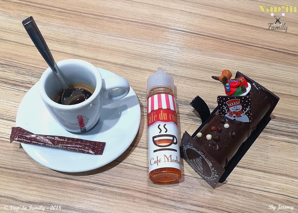 Café mocha - Café du coin  - Vap'in family