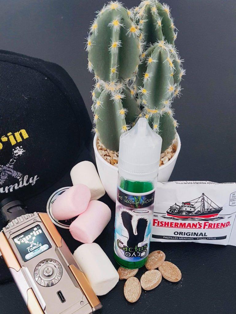 Cactus cryo - Les jus de nicole - Vap'in family