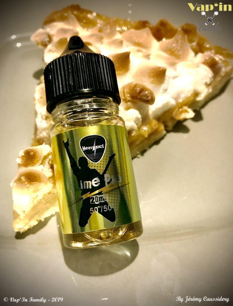 Lime pie - Heavy juice - Vap'in family