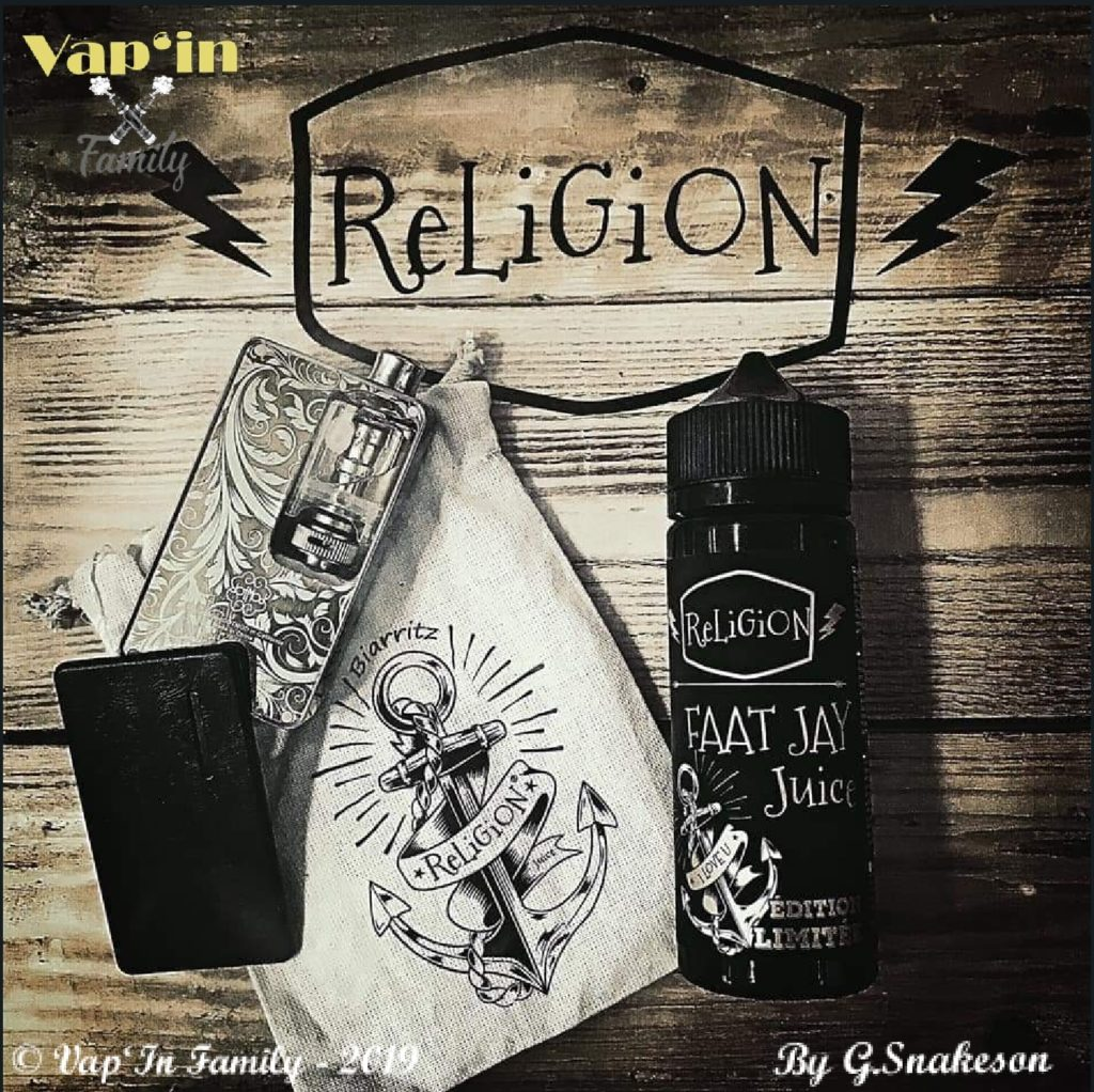 Faat Jay - Édition limitée - Religion Juice - Vap'in family